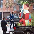 Wandering Sukkah, Danielle Durchslag Ryan Frank, New York, Dibond Art Installation