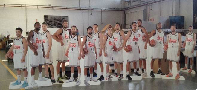 KAPA Tech TEKA, Real Madrid basketball team