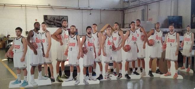 KAPA Tech TEKA, Real Madrid basketball team