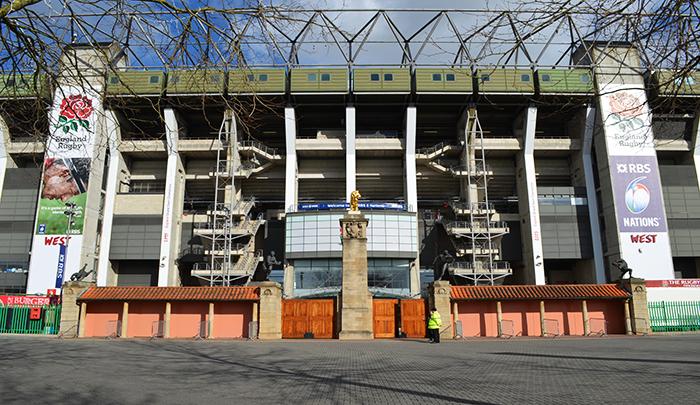 Twickenham Stadium Rugby, Service Graphics, Antalis, KAPA Tech, Exterior Banners