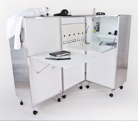 Aluneed, Mortiz von Helldorff, furniture, Germany, Dibond Aluminum Composite