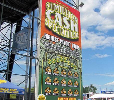 New Hampshire Motor Speedway, New Hampshire Lottery, AMI Graphics, Guinness Book of World Records, Dibond