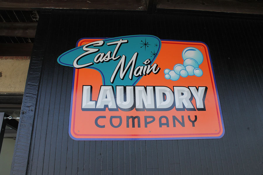 east, main, laundry, company, printed, on, Dibond, by, Adam, Donelly