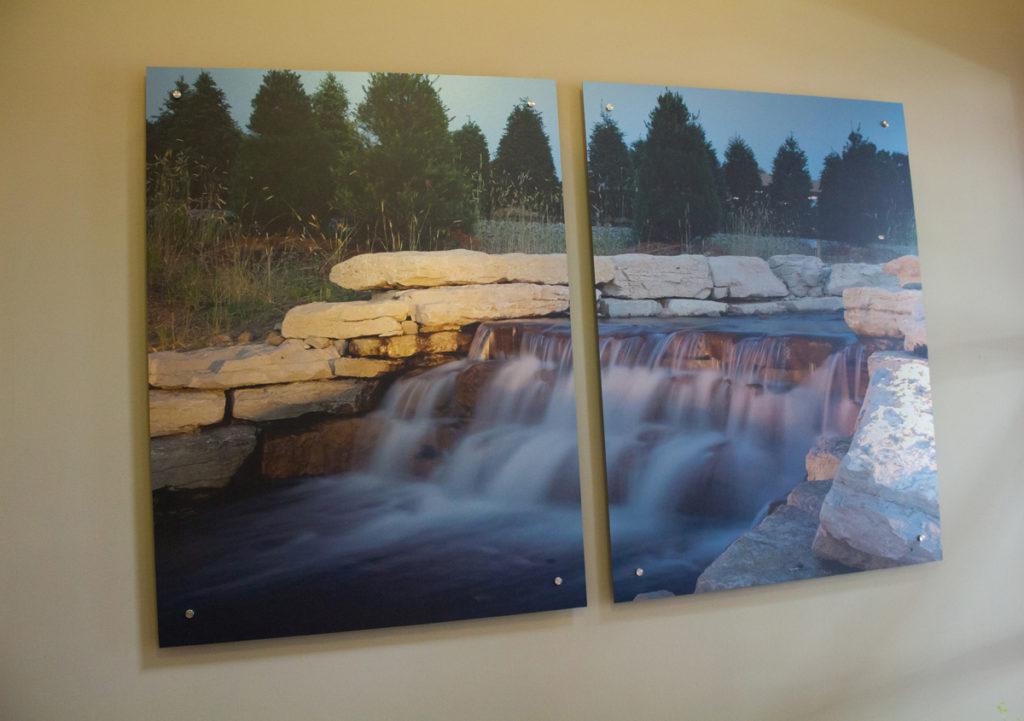 Agio Imaging, Dibond ACM, Interior Wall Decor, Portage City Hall