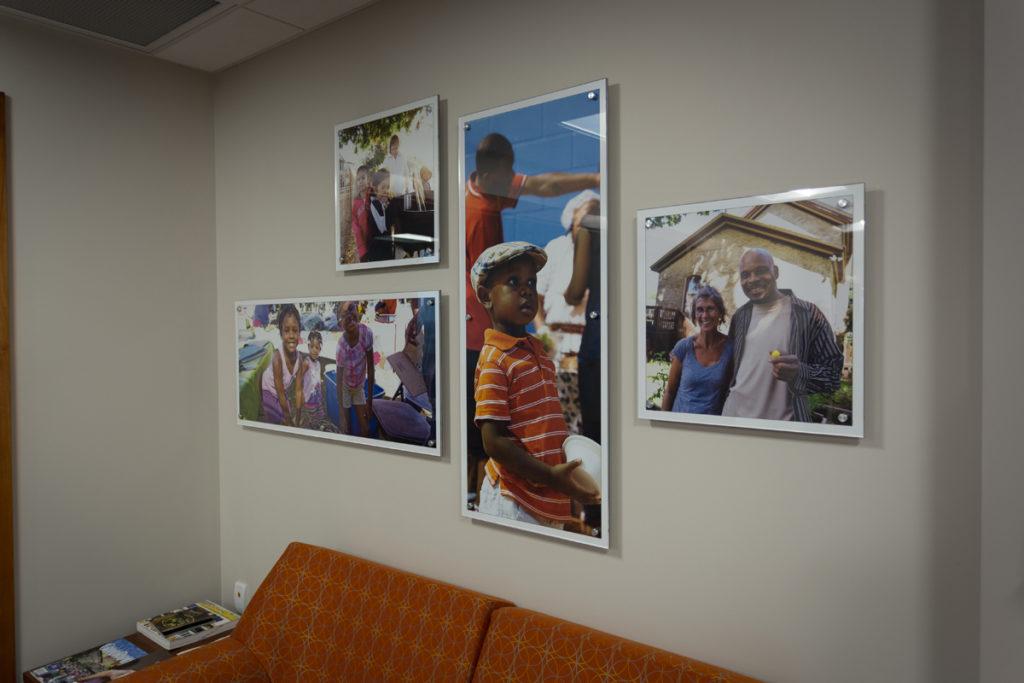 Agio Imaging, Dibond ACM, Interior Wall Decor, WKKF Foundation