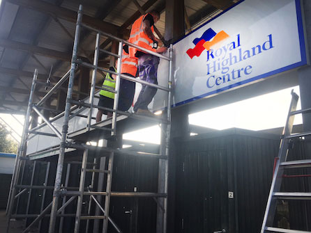 Scottish Charity Receives Specialized Dibond Signage To