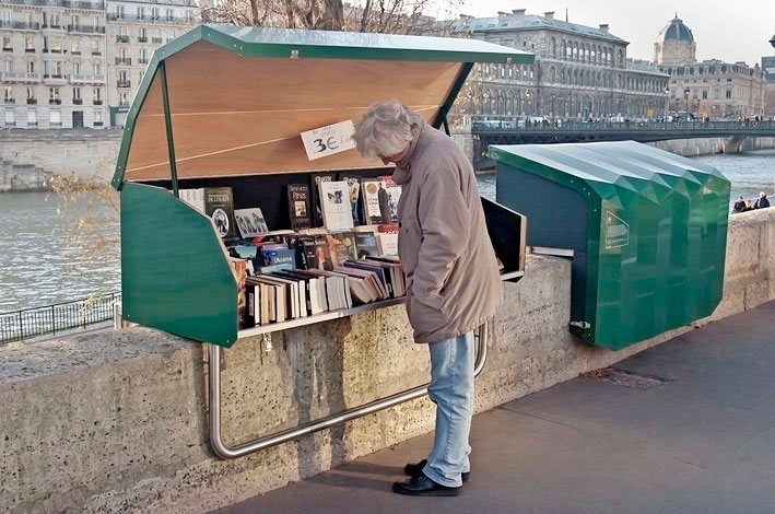 Bouquinistes, Noir, Vif, Paris, France, Dibond, aluminum, composite, material, photography, Noir, Vif