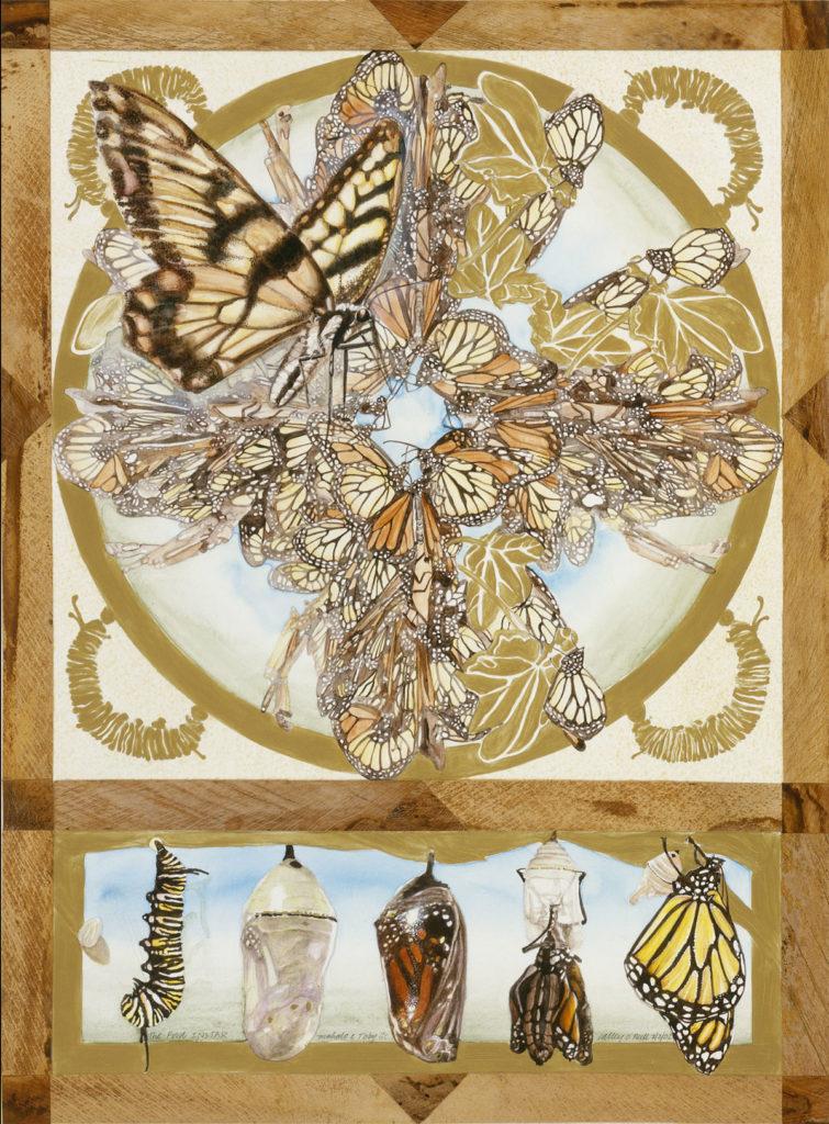 Instar Mahina, Calley ONeill, Goddess Paintings, Gatorfoam, 3A Composites Graphic Display USA