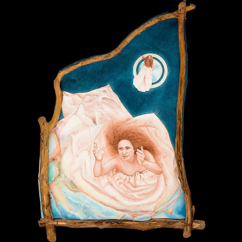 Mahina, Calley ONeill, Goddess Paintings, Gatorfoam, 3A Composites Graphic Display USA