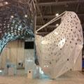 Tecno Soluzioni, MEDAARCH, Maker Faire, Dibond Pavilion, Rome, 3A Composites Graphic Display