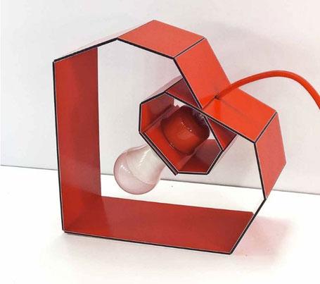 Upcydesign German Lighting Series, Axel and Michaela Kresse, Dibond Aluminum Composite