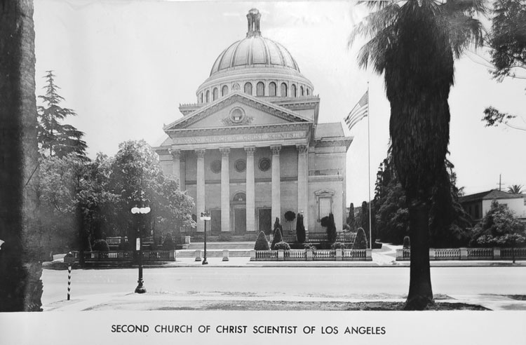 Art of Living Foundation, Second Church of Christ, Historic Building, Design Dynamic, Exterior Dibond Signage, Los Angeles, California, Photo Untold LA Blog
