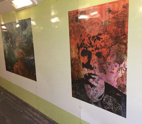 Rookes Alley Castle Street Subways Revitialization, Wallspace UK, Dibond, Digital Print, ACM