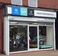 Tara Signs, Piaggio Rebranding UK Motoplex, Dibond, Exterior Signage