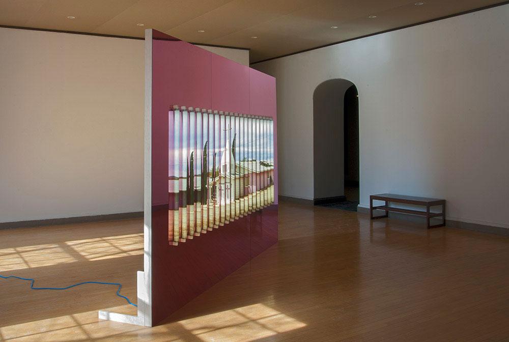 Clint Baclawski, Boston Artist, Light Bulbs, Plexiglas Mounted Dibond, LED Art, Pink Church 2014