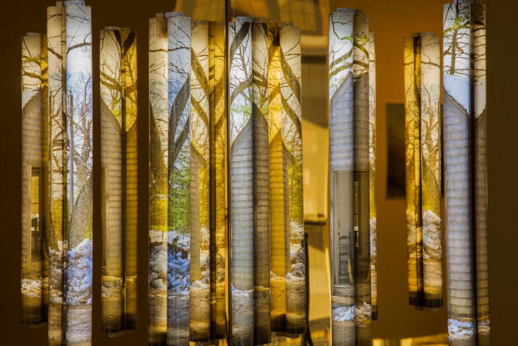 Clint Baclawski, Boston Artist, Light Bulbs, Plexiglas Mounted Dibond, LED Art, Thoreau 2016