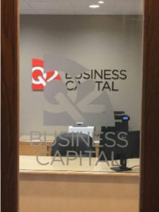 Cincinnati Custom Signs, Ohio, Q2 Business Capital, 3A Composites Graphic Display USA Gatorfoam