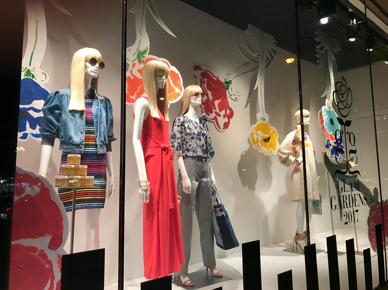 Glam Gardens, Saks Fifth Avenue, New York Botanical Garden, Retail, Window Displays, Ignition NYC,Laird Plastics, 3A Composites Graphic Display USA Gatorplast