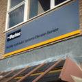Creative Solutions, Parker Hannifin, Exterior Signage, Rebranding, Somerset, Dibond Aluminum Composite