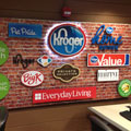 Kroger Display, University of Louisville, Business Center, LexJet, Spectra Imaging, Gatorfoam