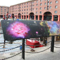 From Earth to the Universe, Photography Exhibition, The Image Group, Albert Dock, 2009, Dibond Aluminum Composite Substrate