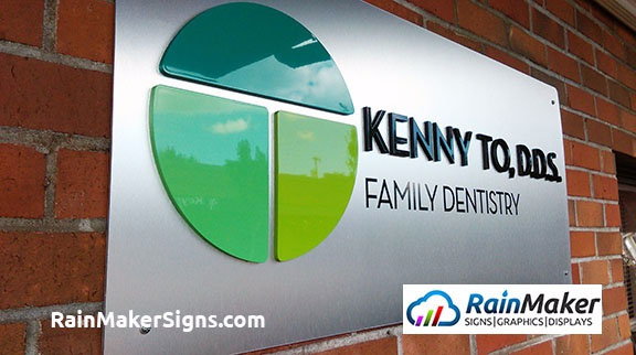 RainMaker Signs, Seattle, Washington, Exterior Signage, Kenny To DDS