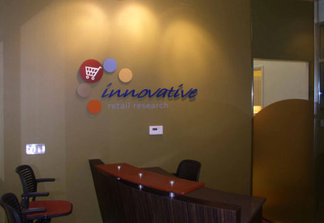 Agio Imaging, Interior Wayfinding Signage Display, Sintra PVC Board, 3A Composites Graphic Display USA