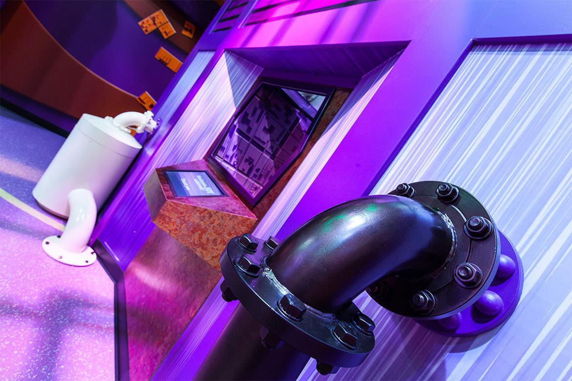 Cadburys World Theme Park, Birmingham, England, PressOn Large Format Graphics, Dibond Aluminum Composite