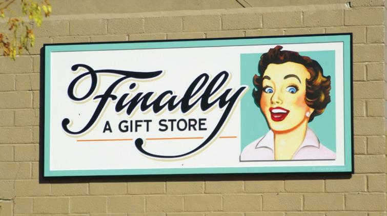 Brushwork Signs, Dave Correll, Minnesota, Exterior Signage, Dibond