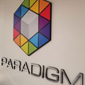 Paradigm Direct, Spotlight Signs, Arizona, Lobby Signage, Black Gatorfoam