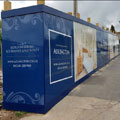 Adlington Retirement Apartments, Signage, Hoarding, Spiral Colour UK, Dibond