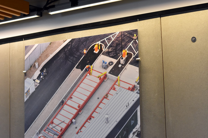 AlphaGraphics, Seattle, KPG Interior Wall Graphics, Gatorfoam Board