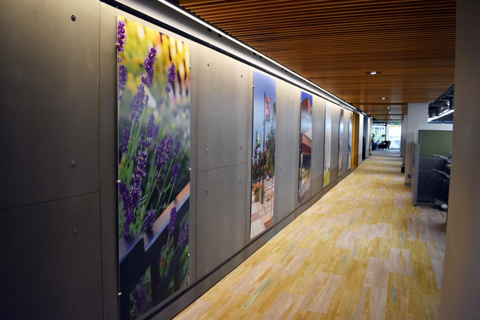 AlphaGraphics, Seattle, KPG Interior Wall Graphics, Gatorfoam Board