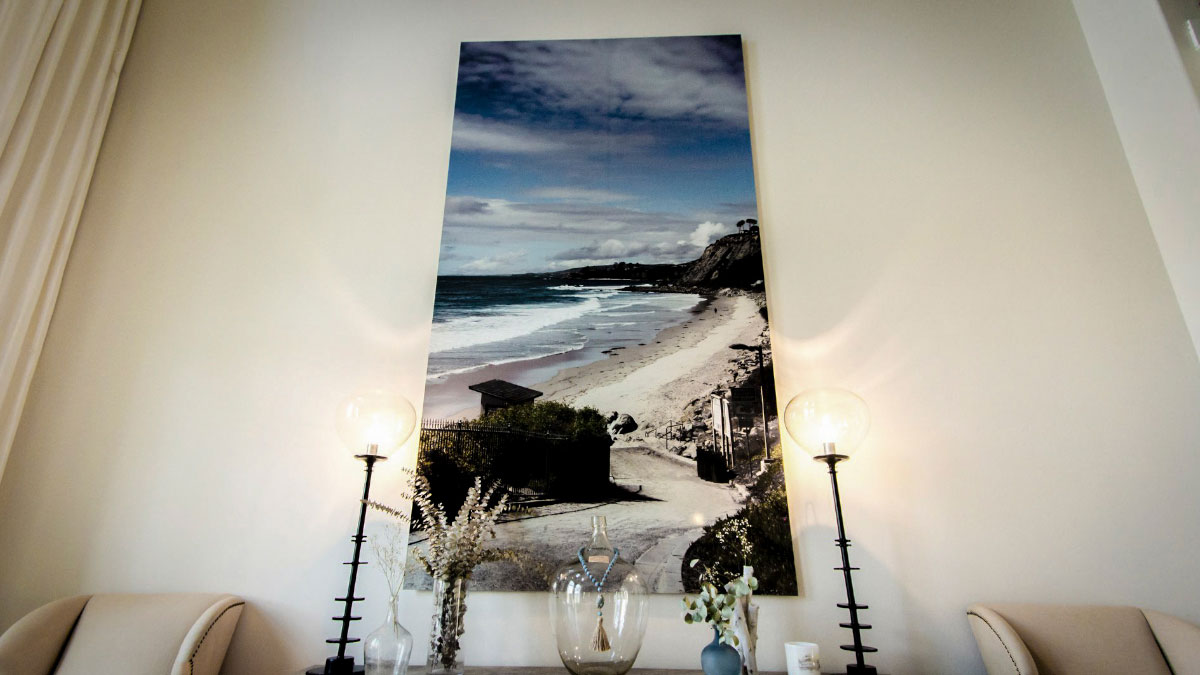 Andy Lara, Oversize Beach Print, ArtisanHD, Arizona, Dibond ACM