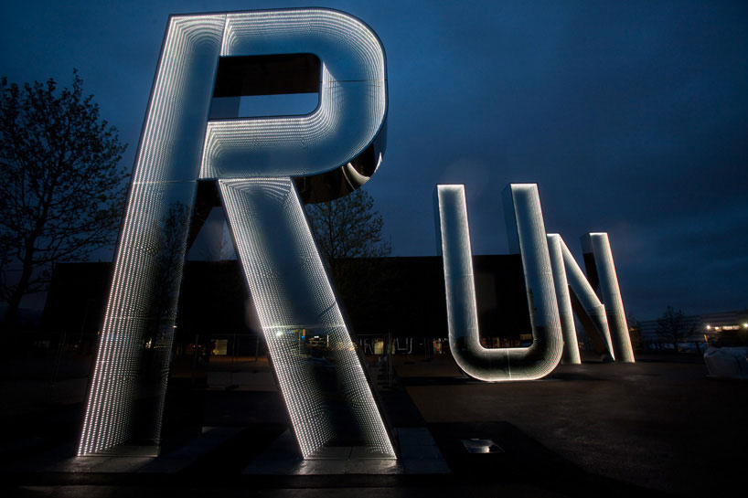 Monica Bonvicini, RUN, Queen Elizabeth, Olympic Park, Design Boom