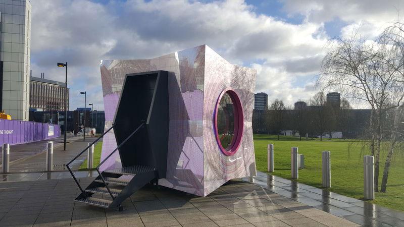 The Pod, Fathom Architects, Charcoalblue, dnco, Sweco, Box Deluxe, Mirror Dibond