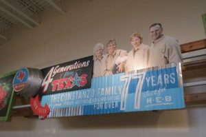 HEB Grocery, Ion Art, San Antonio, Interior Signage