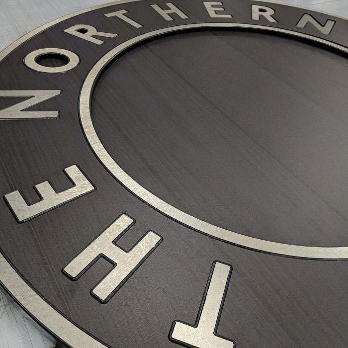 Hartbrights, Manchester, UK, The Northern Way Pub, Dibond, Signage