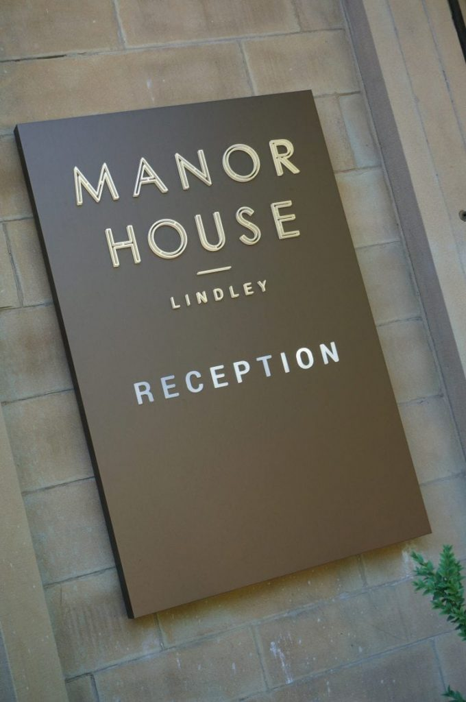 Manor House, Lindley, Huddersfield, Hartbrights Sign Solutions, UK, Dibond Aluminum Composite