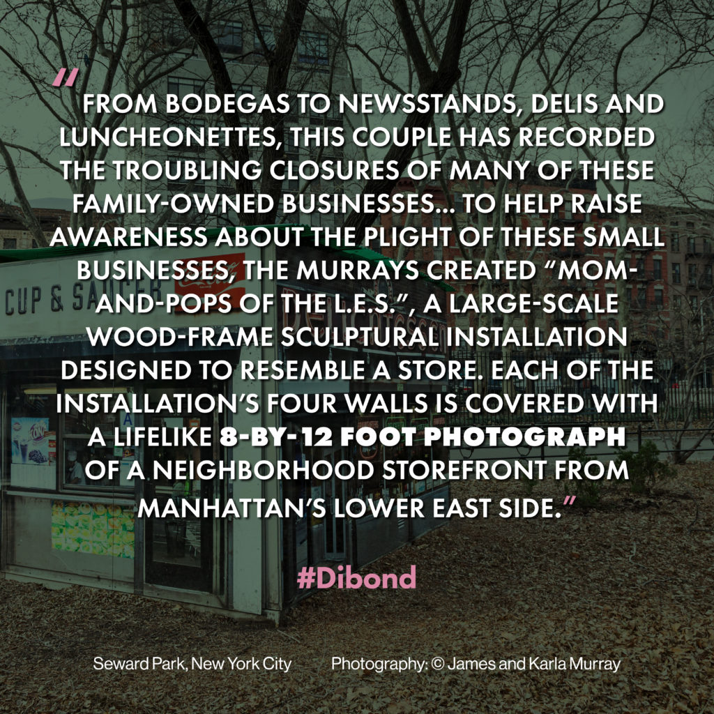 Public Art with Dibond® Raises Awareness of Disappearing
